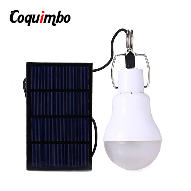 Useful Energy Conservation 15W 130LM Solar Lamp Portable Led Tent Bulb  Light Solar Energy Lamp Home