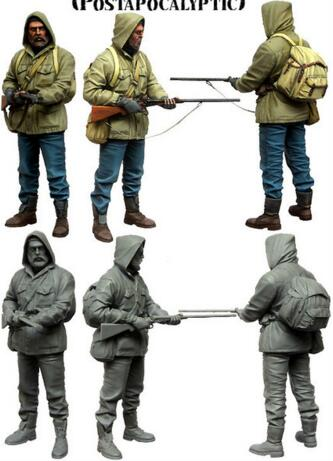 1/35 Resin Figure WWII Stalker 1pc Model Kits