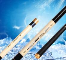 Fishing Rod Super Hard Carbon Super Light 3.6/4.5/5.4/6.3m Taiwan Fishing Pole Fishing Rod Long Section Hand Rod