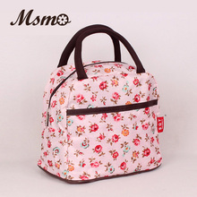 2017 New Hot Variety Pattern Lunch Bag Lunchbox Women Handbag Waterproof Picnic Bag Lunchbox For Kids Adult 22 colors