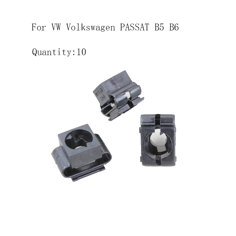 For VW <font><b>PASSAT</b></font> B5 <font><b>B6</b></font> <font><b>Wheel</b></font> Arch <font><b>Cover</b></font> Fastener Clips X10 image