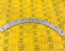 1pcs. outer diameter:320mm 90-degree dial semicircle dial  Semi-Disc radio dial double potentiometer b20k diameter 18mmx2mm
