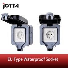 Настенный выключатель ip66 для улицы/ванной комнаты европейский