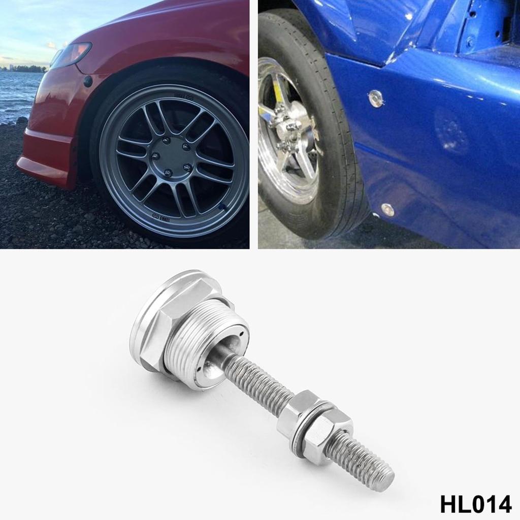 Universal Car Bonnet Hood Spille di Bloccaggio Kit Pulsante di Sgancio Rapido Auto Parti di Ricambio capot verrouillé