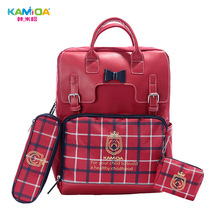 High-end Brand Package Childrens School Bags Protection for Girls Boys Kids Bag Safety Light Bar Waterproof In Primary