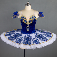 Professional Ballet Tutus Blue Classical Ballet Tutu Dress For Girls Royal Blue Ballet Skirt Ballet Costumes