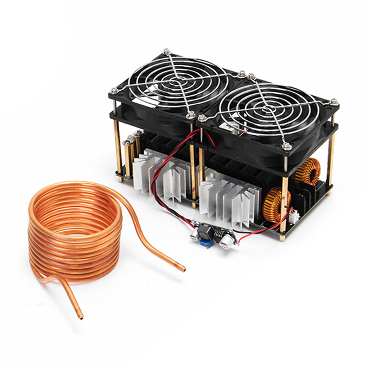 NEW 1800W 12V 48V 40A High Frequency Induction Heating Module Without Tap