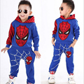 Cartoon Boys Clothes Long Sleeve T Shirt Long Pants 2pcs Set Toddler Boys Clothing Cotton Girls Clothing Sets