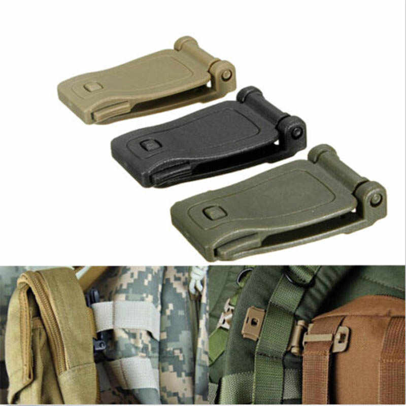 1PCS Molle Strap Military Backpack Bag Webbing Connecting Buckle New Clip LNYYfa