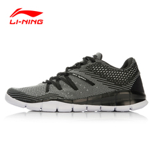Li-Ning Men's Outdoor Sport Smart Training Shoes Fitness Breathable Sneakers Comfort Footwear LI Ning Light Shoes AFPL013
