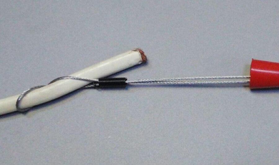 3mm nylonová rybí páska, stahovák kabelů, tyčový had, hadí - Sady nástrojů - Fotografie 4