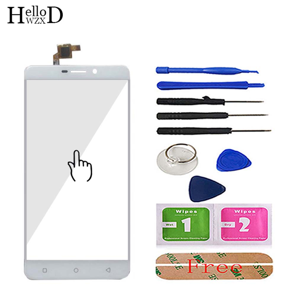 Mobile Phone Touch Glass TouchScreen For Blackview R7 Touch Screen Front Glass Digitizer Panel Lens Sensor Tools Free Adhesive