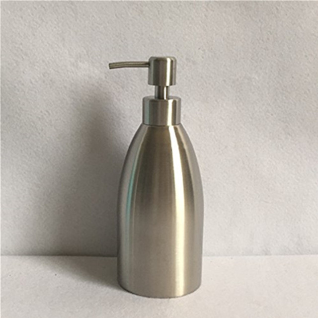 Homedec 304 stainless steel Soap Dispenser Shower Lotion Shampoo Hand Wash Bathroom Accessory