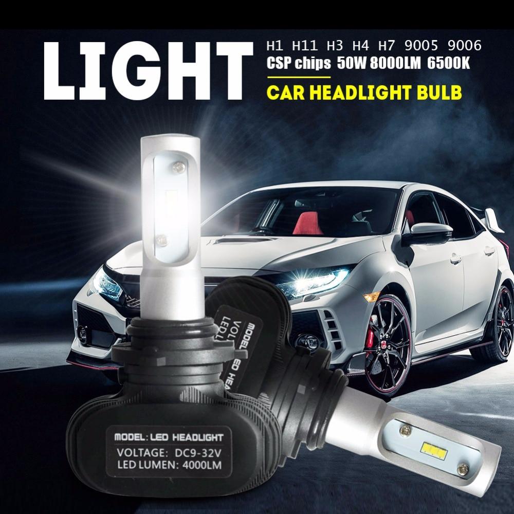 1 զույգ 9006 HB4 LED մեքենա Լուսարձակ - Ավտոմեքենայի լույսեր - Լուսանկար 5