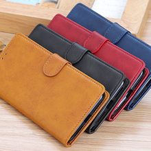 Leather Case For Samsung Galaxy A10E A10S A20 A20S A20E A30 A40 A50 A50S A70 A7 2018 Note 10 Plus S10 S9 S8 Plus Magnet Cover