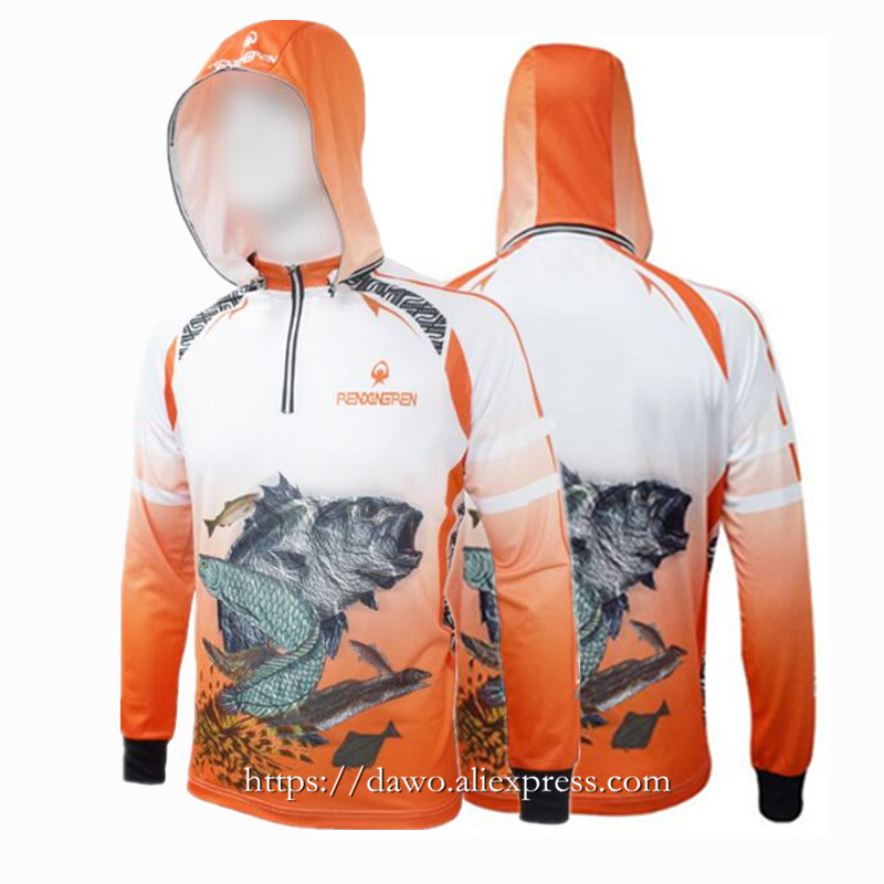Summer Brand Mens Hiking climbing Cycling Fishing Clothes Anti UV Breathable Quick drying Professional Man Fishing