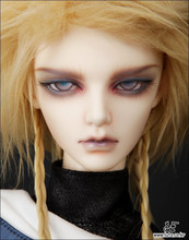 Free shipping! Makeup eyes included! High quality doll Bjd high art fighter doll dummy model 1/3 luts dia.