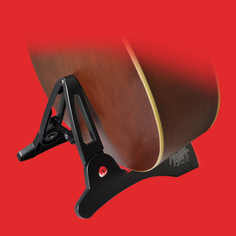 AROMA Rabbit Shape Foldable Guitar Stand Բարձր որակի ABS A- - Երաժշտական գործիքներ - Լուսանկար 2
