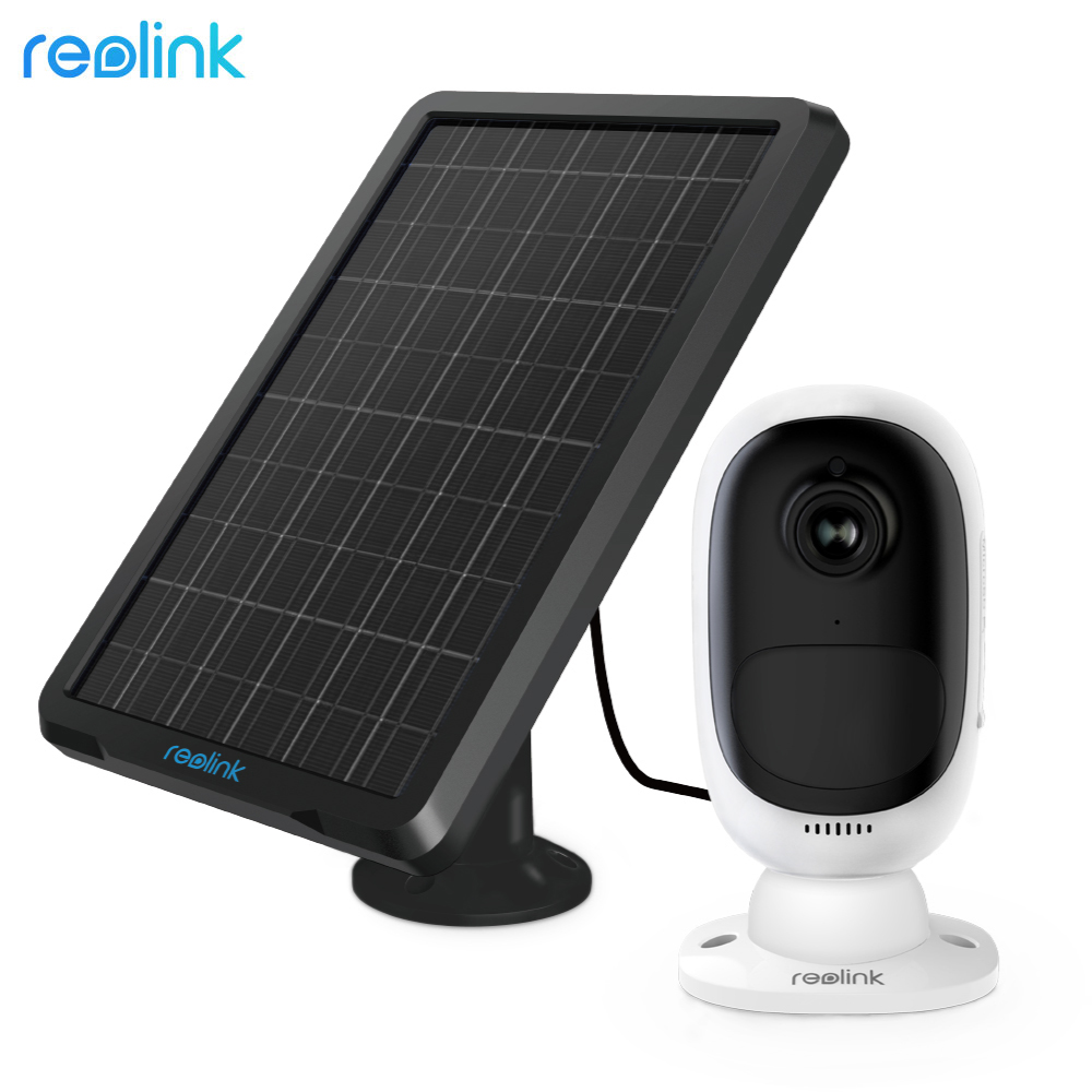 Reolink Argus 2 Wire Free Rechargeable Battery Camera With Solar Panel Full HD 1080P Outdoor Security IP Camera Starlight Sensor