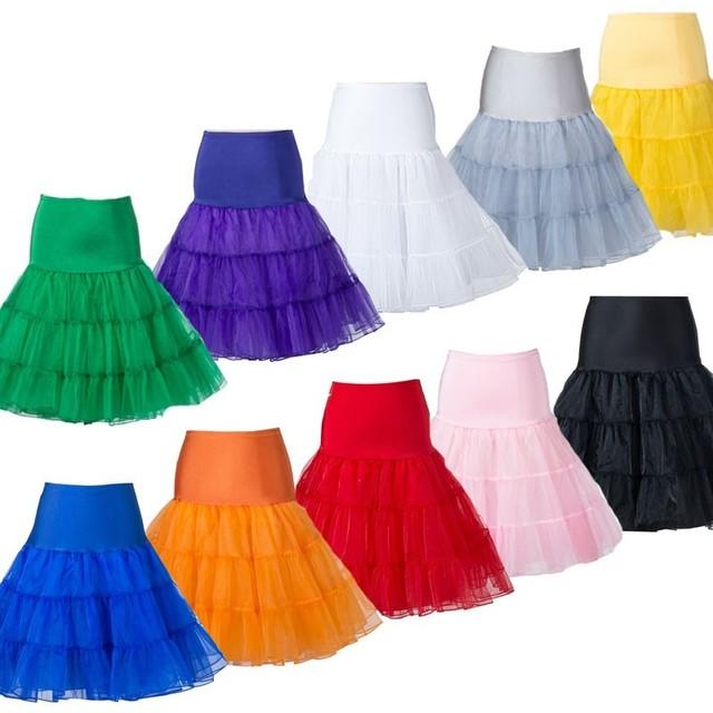 3d05aa659af02 Short Petticoat Lady Girls Crinoline Cheap Bridal Petticoat For Wedding  Dress Rockabilly Tutu Underskirt for dress