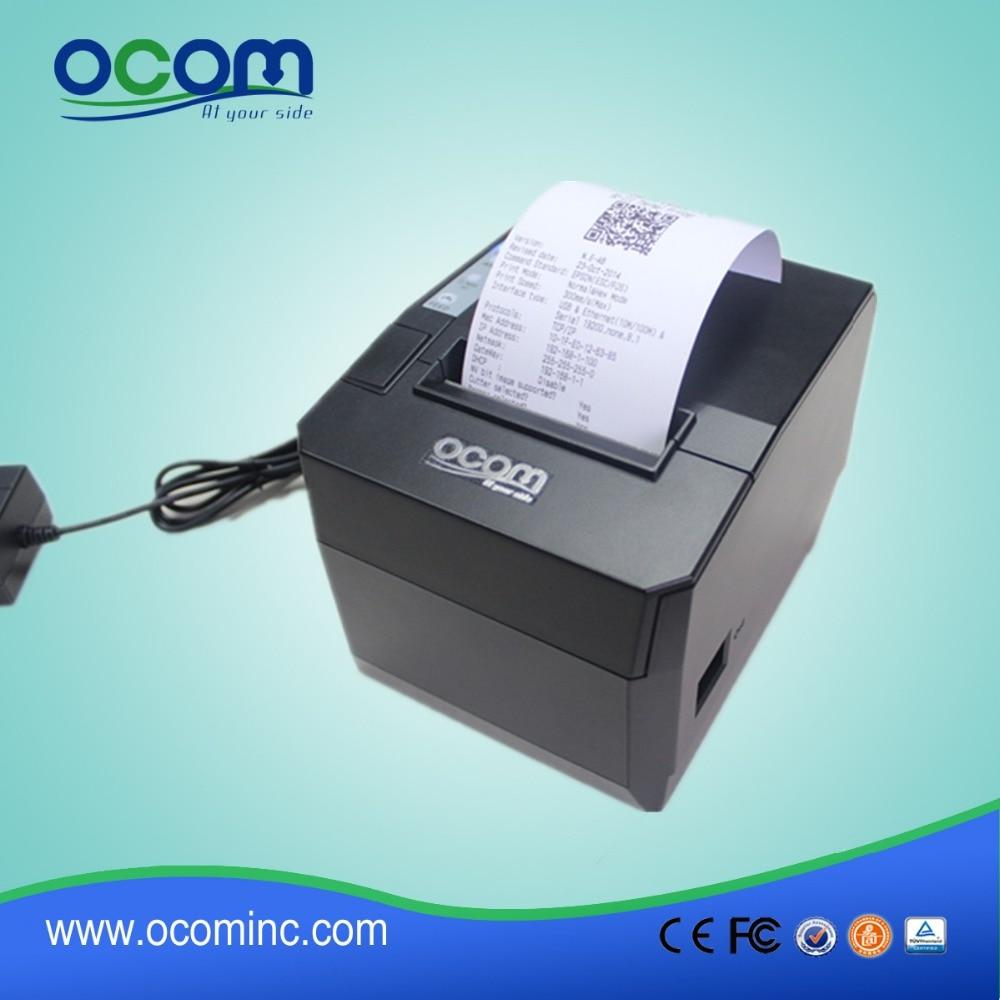 OCPP-88A-URL :2016 supply 80mm restaurant bill printer with auto cutter