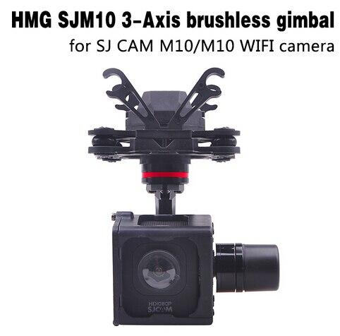 Cardan sans brosse HMG SJM10 à 3 essieux avec sortie AV pour SJCAM M10 SJM10 WIFI caméra bricolage FPV RC quadrirotor Drone F18264