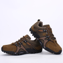 New Men Outdoor Hiking Shoes Fishing Athletic Trekking Boots Climbing Walking Sneskers Sport Hunting Shoes