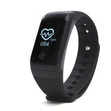 Умный Браслет Bluetooth 4.0 SmartBand Smart Band Шагомер сна Мониторы смарт-браслет сердечного ритма Мониторы SmartWatch группа