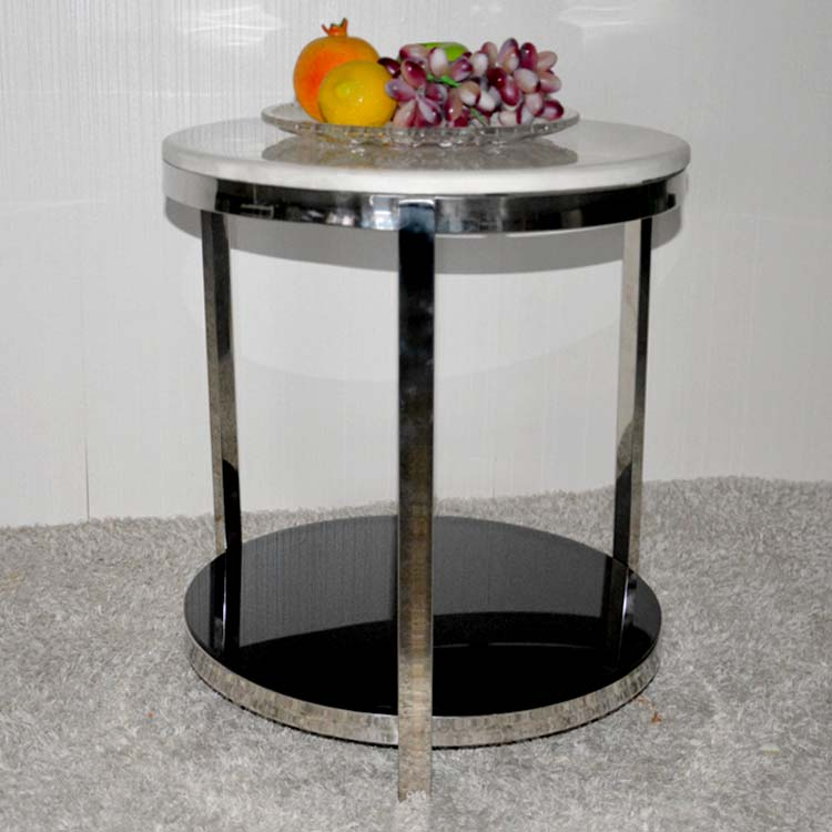 Small Round Tea Table Marble. Stainless Steel. The Sofa Side Table.  In  Coffee Tables From Furniture On Aliexpress.com | Alibaba Group