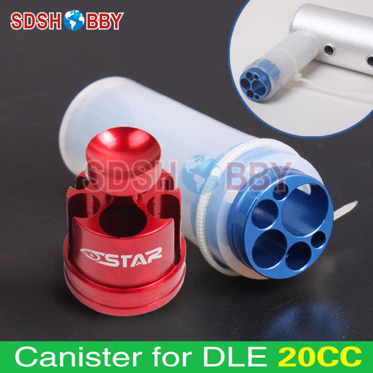 6STAR Muffler/Canister For <font><b>DLE20</b></font>/30 20cc 30cc Gasoline <font><b>Engines</b></font> RC Airplane accessories Zyhobby image
