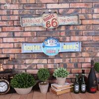 Vintage Home Decor Iron Signs LED Neon Sign Vintage Beer Cerveja cafe bar decoration Shabby chic Placas decorativas de metal