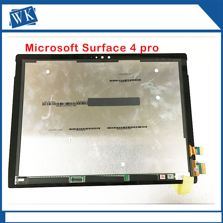 LCD Complete For Microsoft Surface Pro 4 (1724) LCD Display touch screen digitizer Assembly replacement panel [sa] new japanese original authentic takex sensor fx spot