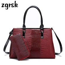 Female Ladies Top-handle Bags Luxury Classic Nylon Zipper Pu Lock Leather Ladies Hand Bags Women Handbags Red Retro Bags цена