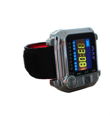 лучшая цена Watch of wrist of 650 mm drop three tenors semiconductor fields rhinitis nasal congestion wrist laser fieldsNew Wrist Laser Ther
