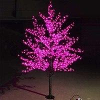 Открытый Водонепроницаемый искусственный 1.5 м под цветущей Сакурой лампы 480 светодиодов Рождество дерево света для дома фестиваля украшени