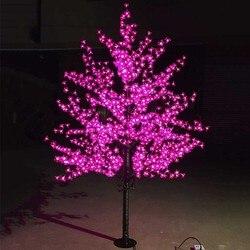 Outdoor Waterdichte Kunstmatige 1.5 M Led Kersenbloesem Boom Lamp 480 LEDs Kerstboom Licht voor Thuis Festival Decoratie