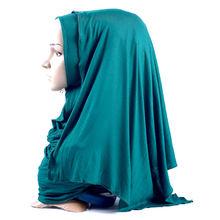 10 шт Женские однотонные хлопковые шарфы 70x170 см