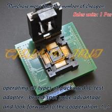 ME3064ESHF1H программист адаптер FPQ100 в DIP32 LQFP100 TQFP100 гнездо