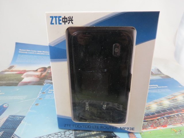 ZTE MF93E 4G LTE FDD 100Mbps & TDD 68Mbps Dual-Mode Pocket Broadband Router free shipping by courier yf360d series lte fdd tdd industrial dual sim 4g router for m2m application