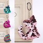 Cute Sequins Cat Key...