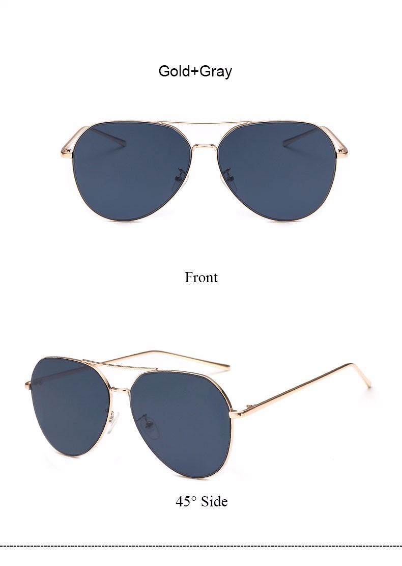 HTB18s7fNFXXXXc4XVXXq6xXFXXXF - Flat Lens Mirror aviation Sunglasses Women Stylish Sun Glasses PTC 296