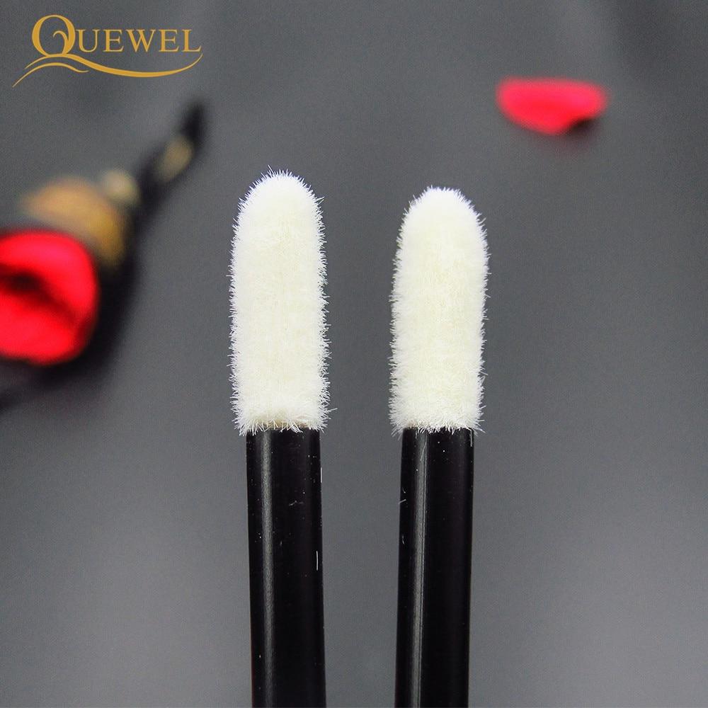 50pcs Make Up Brushes set Cotton Swab Mascara Wands Lip Brush Pen Cleaner Cleaning Eyelash Disposable Makeup Brush Applicators 5