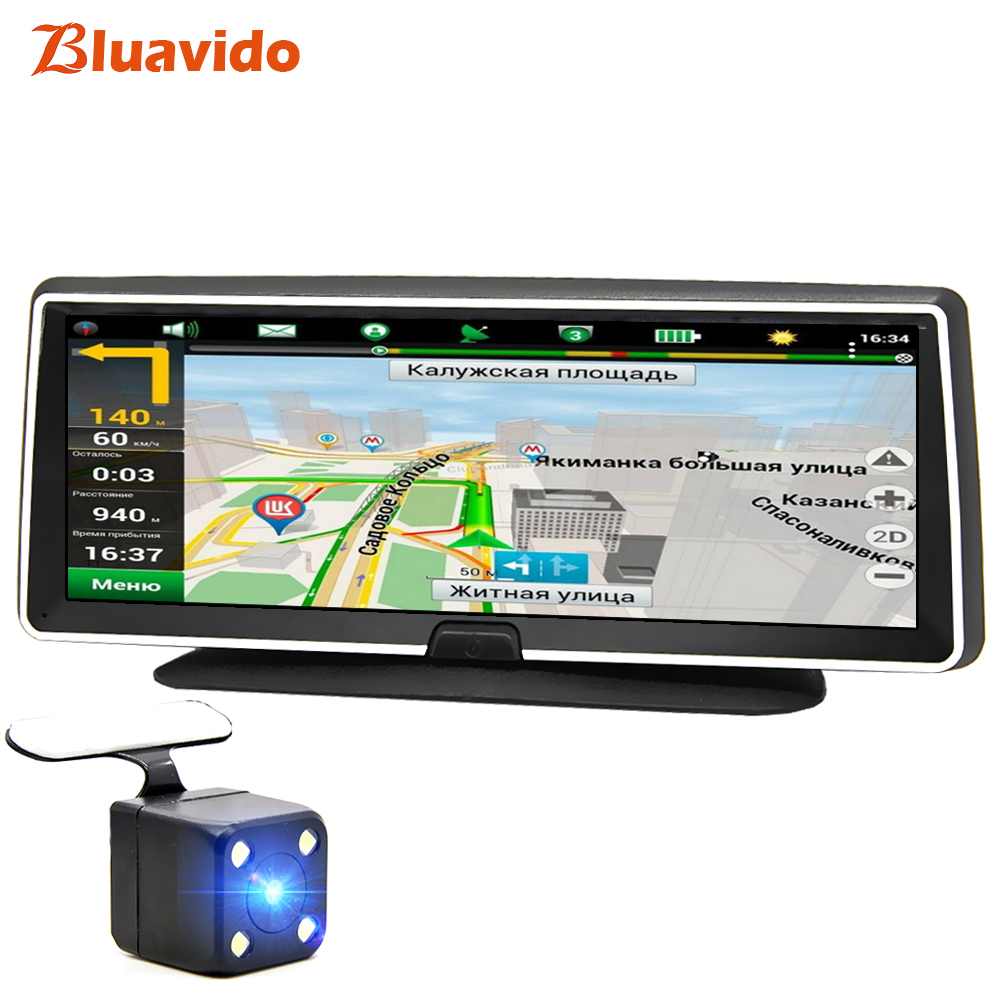 Bluavido Android Dvr Navigation Car-Video-Camera Dash-Cam Full-Hd Registrator-Recorder