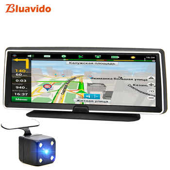 Bluavido 4G android dvr 8 inch screen car video camera gps navigation Full HD 1080P dash cam registrator recorder remote monitor - DISCOUNT ITEM  39% OFF All Category