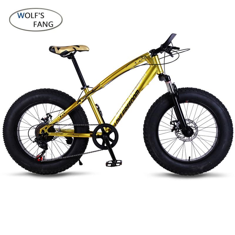 Bicicletta Mountain bike 7/21 velocità Grasso Neve Strada della bici 20*4.0 pieghevole Bici bicicleta Anteriore e Posteriore A Disco Meccanico freno Nuovo