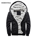 WEBONTINAL Thick Soft Velvet Warm Man Mens Jackets And Coats Soft Shell Hombre Winter Jacket For Men Coat Casual Hoodies 4XL