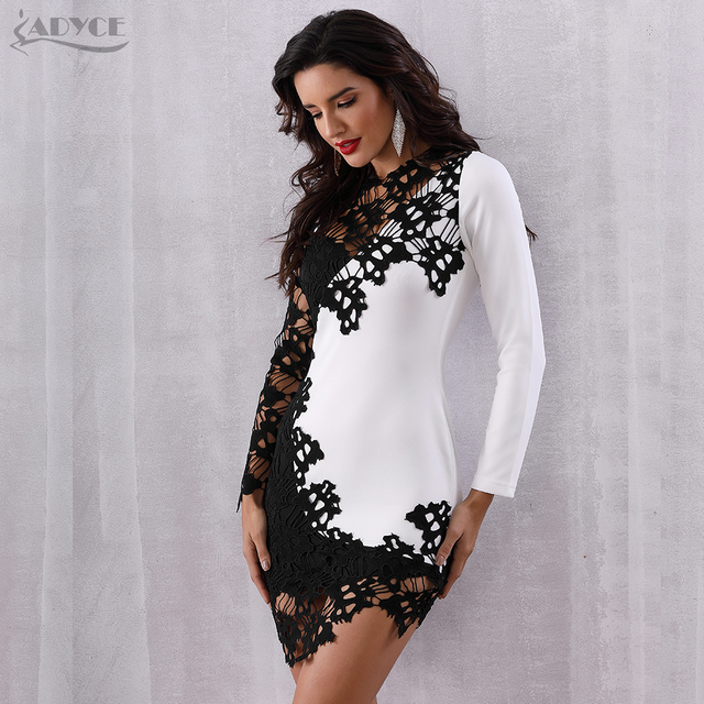 Lace sexy party dress