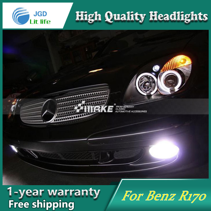 Auto Clud Style LED Head Lamp for Benz R170 SLK320 SLK2 1996-2004 led headlights signal led drl hid Bi-Xenon Lens low beam auto fuel filter 163 477 0201 163 477 0701 for mercedes benz