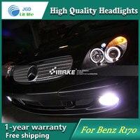 Auto Clud Style LED Head Lamp for Benz R170 SLK320 SLK2 1996 2004 led headlights signal led drl hid Bi Xenon Lens low beam