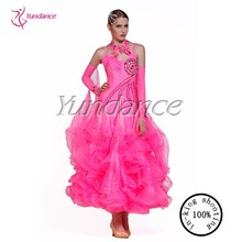 B 13112 Shinny Ballroom Dancing Dress
